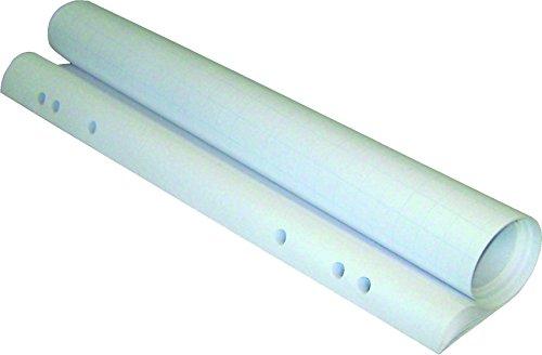 Franken F2130 Flipchart Papier (5 Blocks x 20 Blatt, 98 x 68 cm) weiß