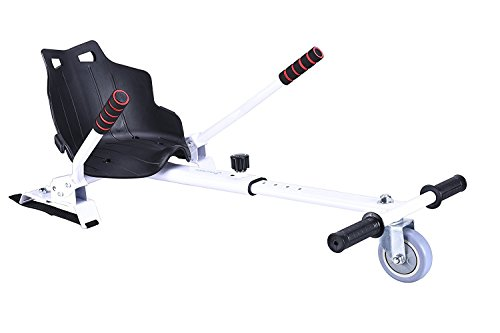HOROES Kindersitz hoverkart Kompatibel mit Alle Scooter 6.5Scooter, 8i 10Zoll, Weiß