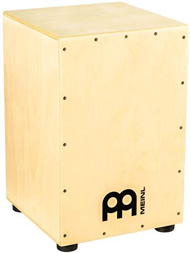 Meinl Percussion HCAJ1NT Headliner Series String Cajon, Frontplatte: Siam Oak, mittlere Größe
