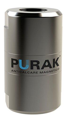 Purak ANTICALCARE MAGNETICO A POLARIZZAZIONE RADIALE PER USO FINO A 15 L/MIN, 100% MADE IN ITALY, 1/2