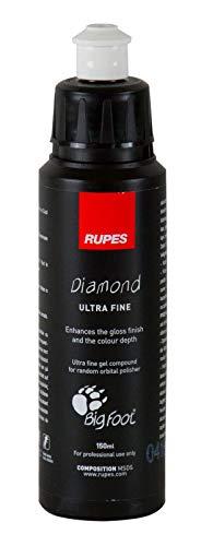 RUPES Diamond Ultra Fine Glanzpolitur Autopolitur Politur Feinpolitur 150 ml (Ultra Fine Politur)