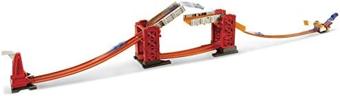 Hot Wheels DWW97 - Track Builder Ponte delle Acrobazie