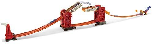 Mattel Hot Wheels DWW97 - Track Builder Bridge Stunt Kit (Hotwheels Builder Track)