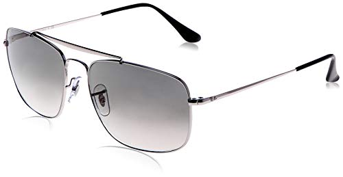 Ray-Ban Herren 0RB3560 003/32 61 Sonnenbrille, Silver/Cleargradientgrey,