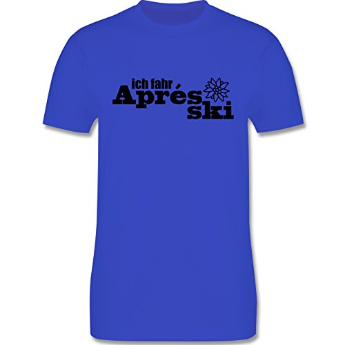 Après Ski - Ich fahre Apres Ski - Herren Premium T-Shirt Royalblau
