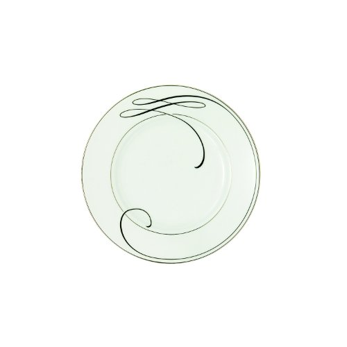 Waterford Ballet Ribbon Bread and Butter Plate, 6-Inch by Waterford Fine Bone China -