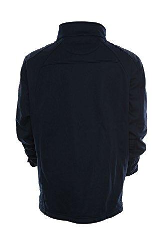 Kitaro Softshell Jacke Softshelljacke Herren Plusgröße Maritime Classics Dunkelblau