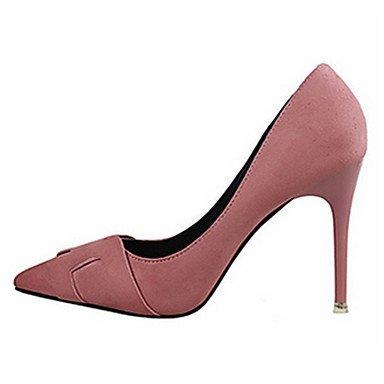 Moda Donna Sandali Sexy donna caduta tacchi Comfort Felpa casual Stiletto Heel altri nero / rosa / rosso / grigio chiaro / fucsia / arancio altri Red