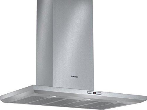 Bosch DWB091E50 Serie 6 Wandhaube / 90 cm / Abluftleistung sorgt mit bis zu 1000 m³/h schnell für ein optimales Küchenklima / Edelstahl