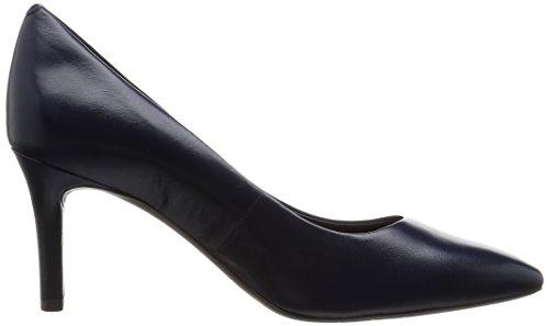 RockportTotal Motion 75mm Pointy Toe Pump - Scarpe con Tacco donna Blu (Deep Ocean Nappa)