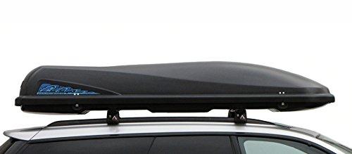 Ultra Plast Dachbox MD20 231x91x38cm 600L Ganz Schwarz