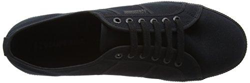 Superga Unisex Adulti 2950 Cotu Sneaker Nero (totale Nero)