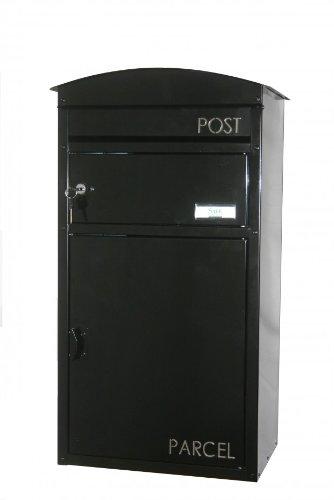 SafePost 48 Paketbriefkasten anthrazitgrau Paketfach Wandbriefkasten Briefkasten