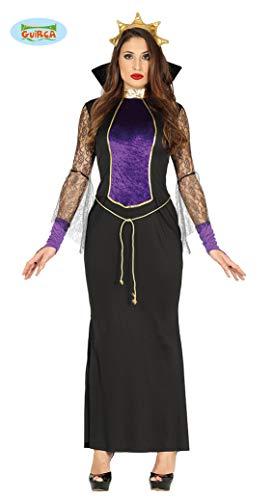 Guirca Kostüm Grimilde Regina Hexe Schneewittchen, Farbe Schwarz, Violett, Unikat, - Böse Stiefmutter Kostüm