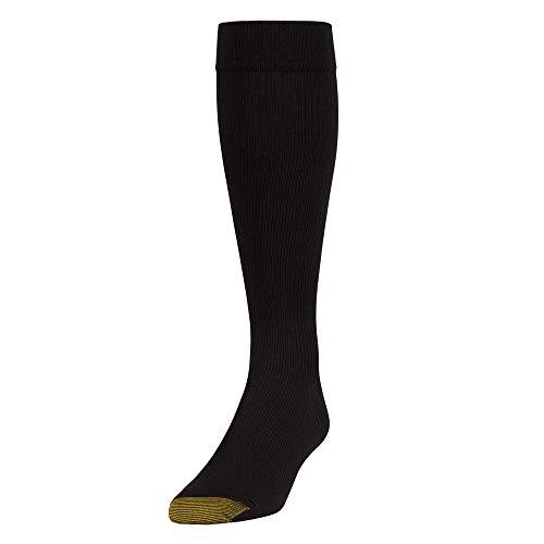 Gold Toe Herren Socken, Einfarbig schwarz schwarz Gr. One size, schwarz -