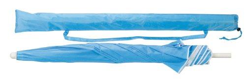 Strandschirm - Sonnenschirm 1,60 m Durchmesser - knickbar - hellblau