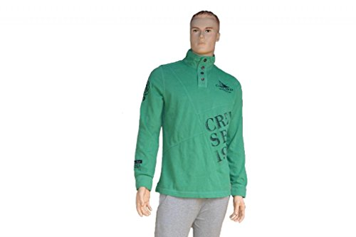 Herren Pullover - Sweatjacke - Camp David Grün
