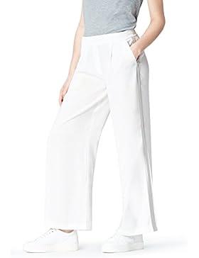 FIND Pantalón con Raya Lateral para Mujer