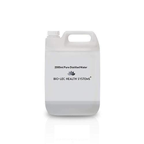 2000ml 2l Agua destilada vapor lento 100% puro varios