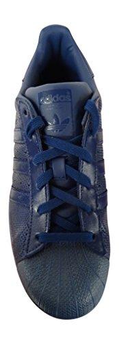 Adidas Superstar Herren Sneaker DKBLUE/DKBLUE/DKBLUE BB4267