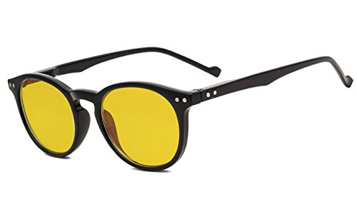 a301f3fc3fd Eyekepper Retro Oval Round Anti-Glare Reduce Eyestrain Computer Reading  Glasses with More Than 80