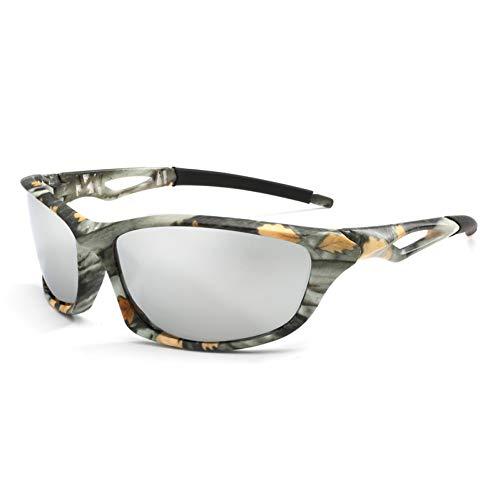 Xiaotaiyang Frauen Polarisierte Sonnenbrille Camo Hd Objektiv Sonnenbrille Sicheres Fahren Brille Eyewear Outdoor Sports,C5