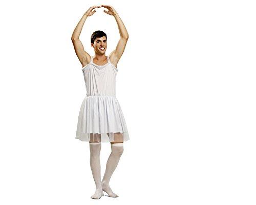 My Other Me Herren Kostüm Ballerina, Größe M-L, weiß (viving Costumes mom01349)