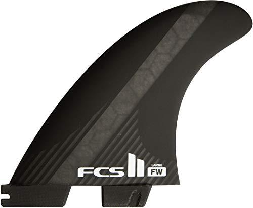 FCS II FW PC CARBON Tri-Quad Finnen Set, L