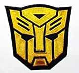 Transformers Film Movie Autobot Golden Logo Jacke Eisen nähen auf bestickt Patch =