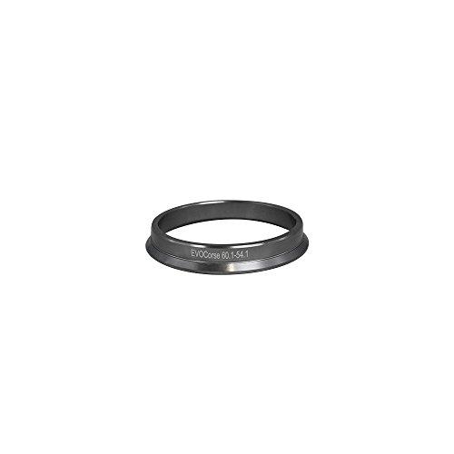 Bague de centrage en aluminium 60,1/54,1 mm - Kit 4 pièces