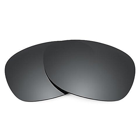 Verres de rechange Revant polarisés Noir Chrome pour Ray-Ban New Wayfarer 52mm RB2132