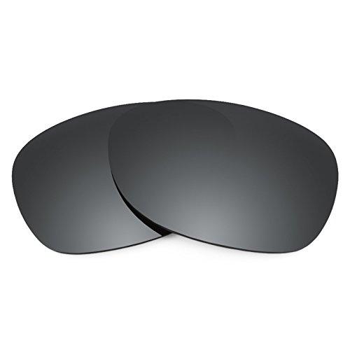 Revant Ersatzlinsen für Ray Ban New Wayfarer 52mm RB2132 Polarisierung Schwarz Chrom MirrorShield®