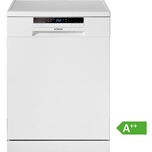 Bomann GSP 853 Geschirrspüler / A++ / 259 kWh/Jahr / 12 MGD / Energieeffizienzklasse A++ / weiß