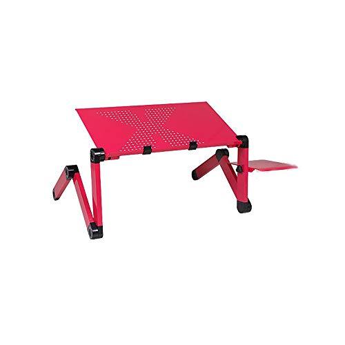 ZSPAYNLA Tragbarer mobiler Laptop stehend Schreibtisch Bett Sofa Laptop Klapptisch Notebook Schreibtisch Mauspad - Laptop Cooling-plattform