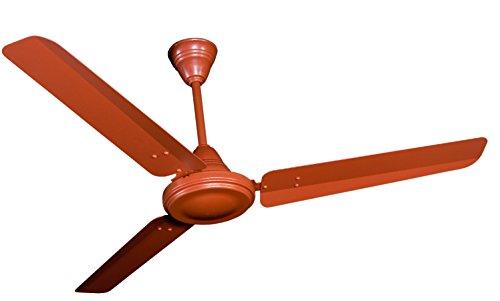 Crompton HS Plus 48-inch 53-Watt Power Saver Ceiling Fan (Brown)