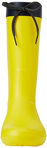 crocs Damen Freesail Rain Boot Women Gummistiefel Gelb (Lemon)