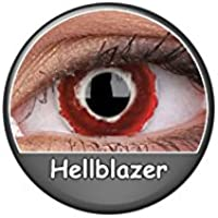 Kontaktlinsen Festive ohne Stärke Phantasee Modell Fancy Lens 14mm Hellblazer