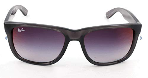 Ray-Ban Herren 0RB4165 606/U0 51 Sonnenbrille, Transparent Grey/Greygradientmirrorred