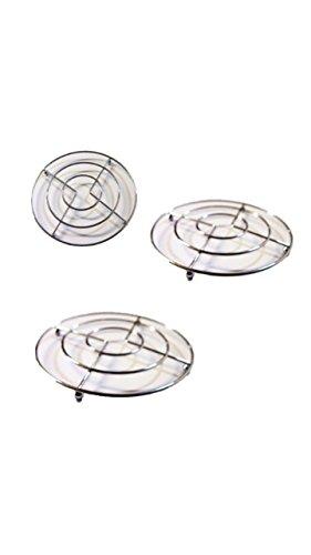 Metall-Untersetzer, 3er Set - Metall-untersetzer-set