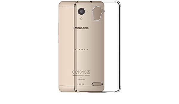 hot sale online 59d7f 7831c Coverito TPU for Panasonic Eluga Ray X Transparent Back Cover