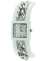 watches philip mercier watches for men and women philip mercier ladies silver dial bangle watch b001tod26k