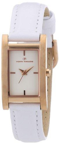 TOM TAILOR Damen-Armbanduhr Analog Quarz Leder 5410902