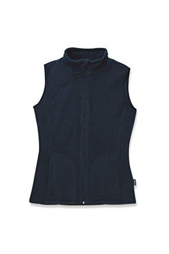 Stedman Apparel Damen Sweatshirt Active Fleece Vest/St5110 Blue Midnight