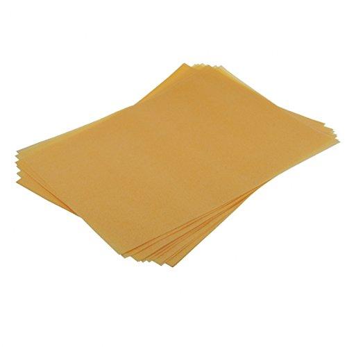 Preisvergleich Produktbild 12 x Waferpaper / Esspapier ORANGE (DIN A4) - Shantys