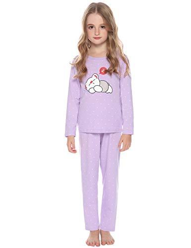 Hawiton algodón Pijama niña Invierno