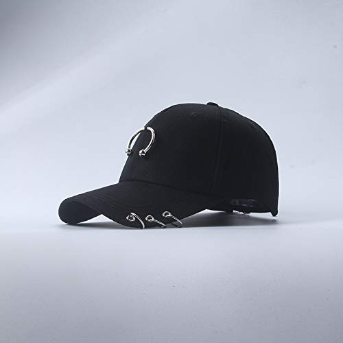 kyprx Chapeau de Printemps et d'été Femme Version coréenne de la Casquette de Baseball Masculin Hip hop Chapeau Occasionnel étudiant Rue Casquette