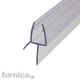 FURNICA 70cm Ersatzdichtung für 6/7-8mm Glasdicke, Wasserabweiser Duschdichtung, Lücke 13.4mm UK03