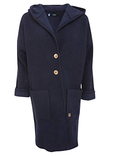 Ivanhoe Damen Trachten-Mode Jacke Duffy in Dunkelblau traditionell schwedische Qualitätsware, Größe:36, Farbe:Dunkelblau