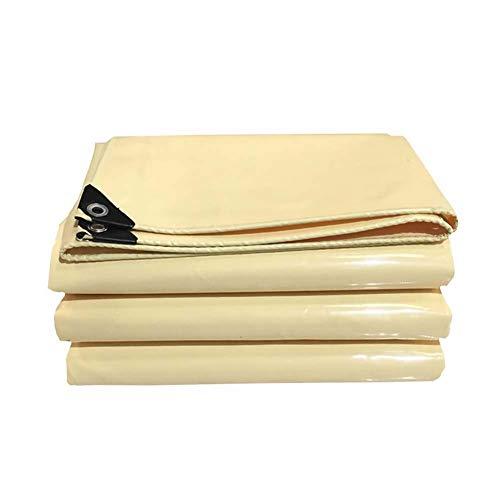 FINLR-Plane Hochfeste Polyester-Silk-Planen Doppelseitige wasserdichte Beschichtung 100% Sonnenschutzmittel UV-beständig Heavy Duty - 600G/M² (Size : 6X8M) -