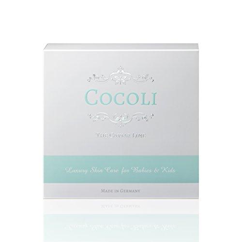 Cocoli - hochwertige Hautpflege für Babys & Kinder - Creme & Wash im Set - handliche Größe 2 x 50ml - ideal auf Reisen - das luxuriöse Pflegeset ist Hypoallergen (Natur Kit Mutter)